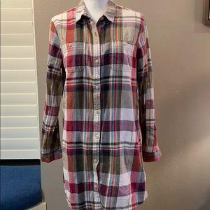 Gramicci   W's Keeper Shirt dress  Large NWT